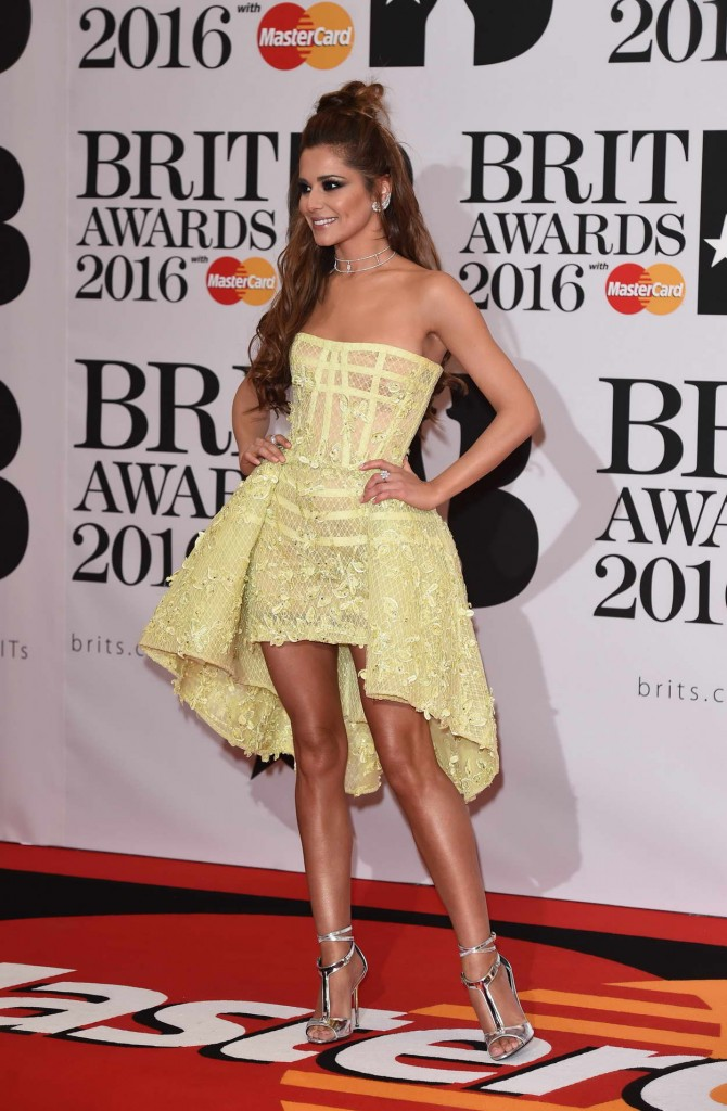 Cheryl Fernandez-Versini at BRIT Awards 2016 in London 02/24/2016-3