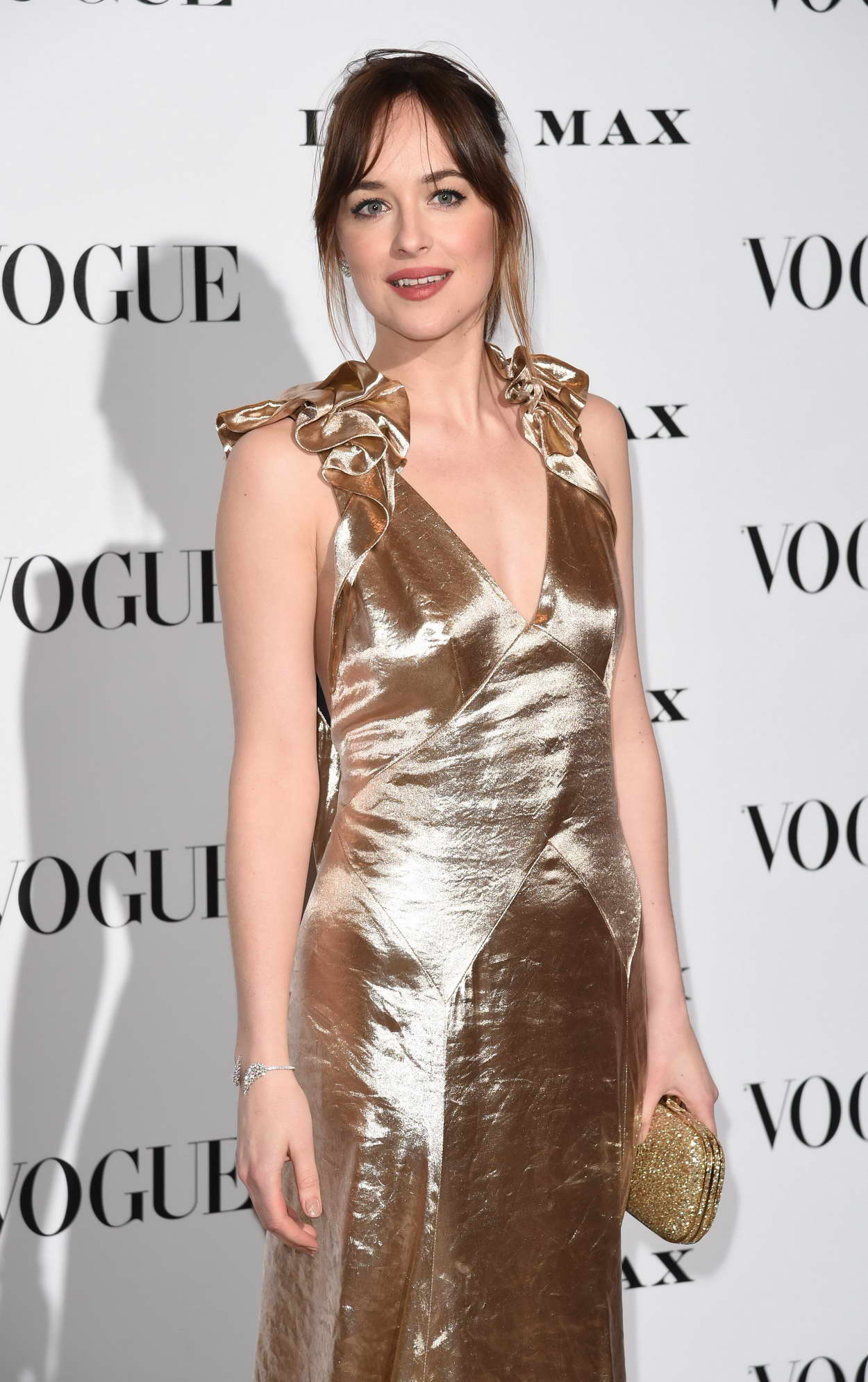 Dakota Johnson at Vogue 100: A Century of Style in London ...