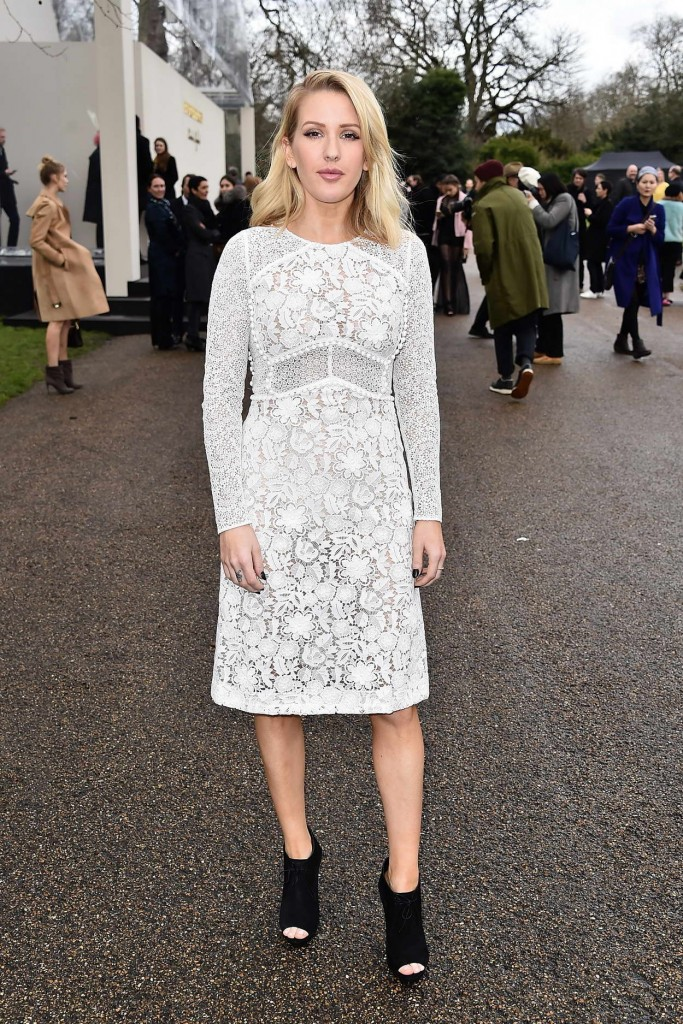 Ellie Goulding at Burberry Womenswear Show During London Fashion Week 02/22/2016-1
