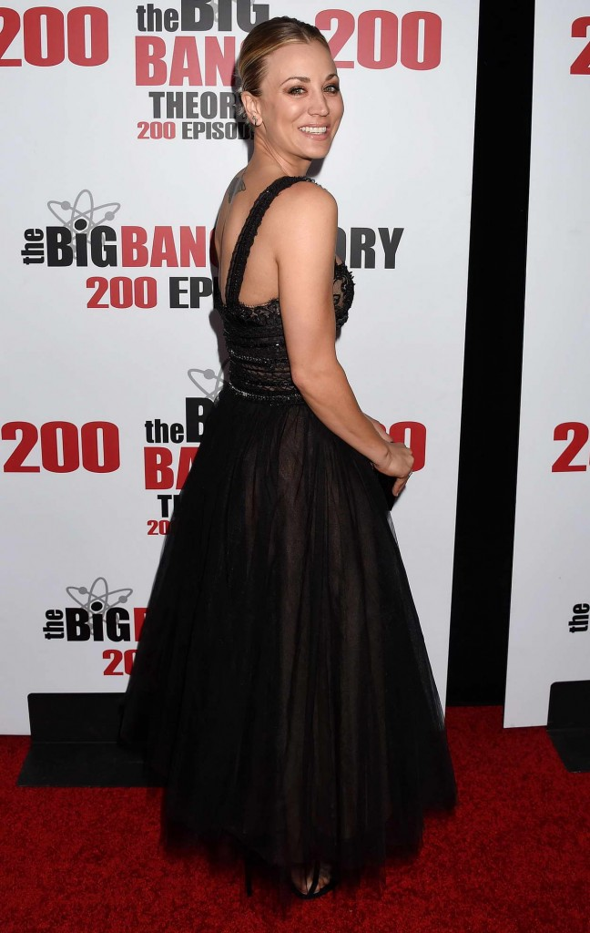 Kaley Cuoco at the Big Bang Theory 200th Episode Celebration in LA 02/20/2016-2