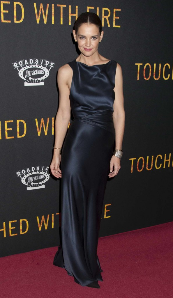 Katie Holmes at Touched With Fire Premiere in NYC 02/10/2016-1