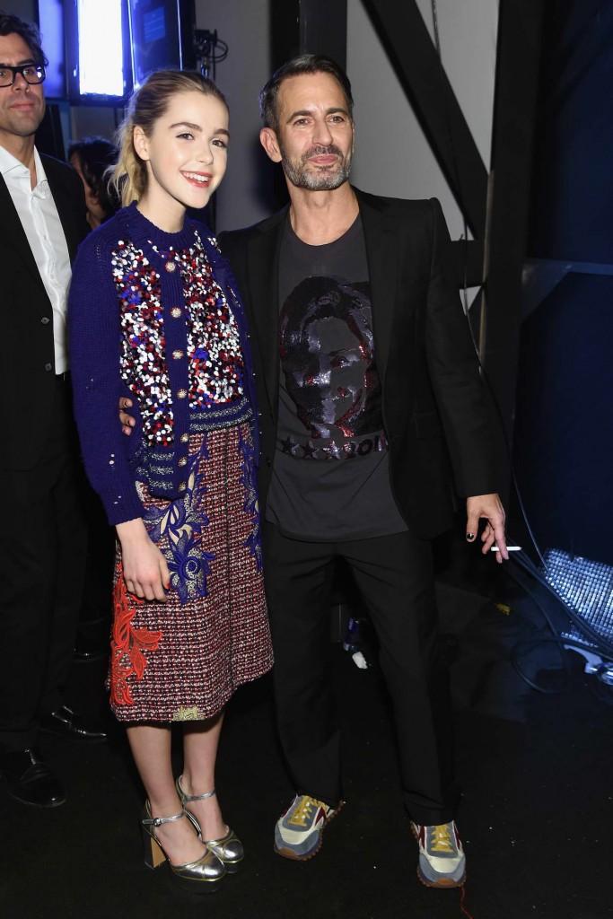 Kiernan Shipka at Marc Jacobs Show During London New York Fashion Week 02/18/2016-5