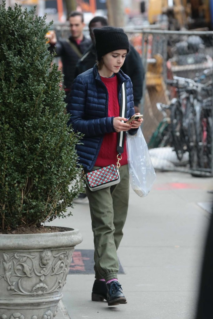 Kiernan Shipka Out in NYC 02/20/2016-1