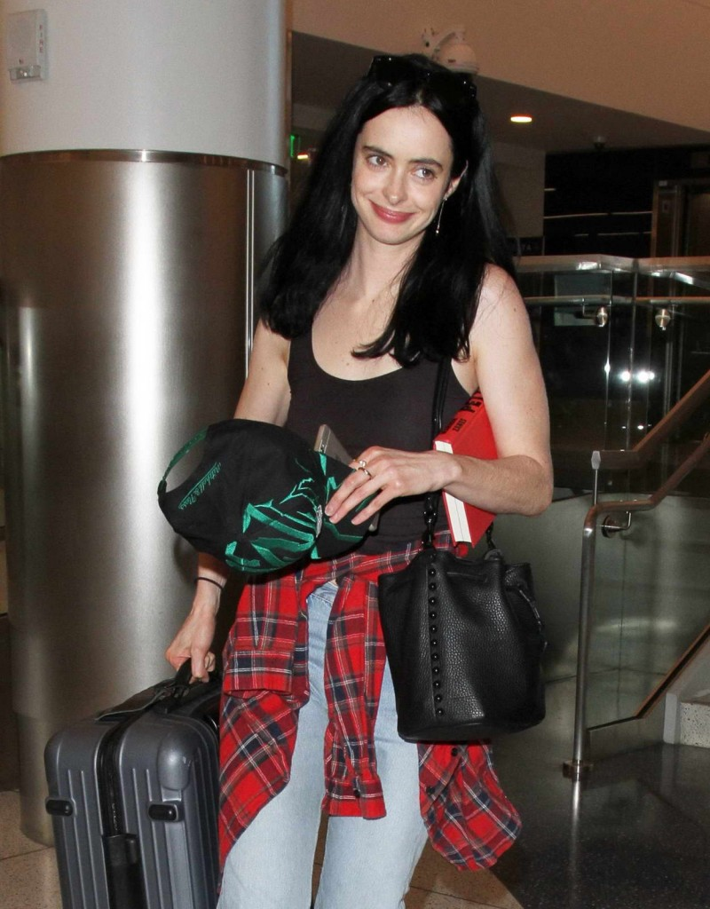 Krysten Ritter at LAX Airport in Los Angeles 02/19/2016-1