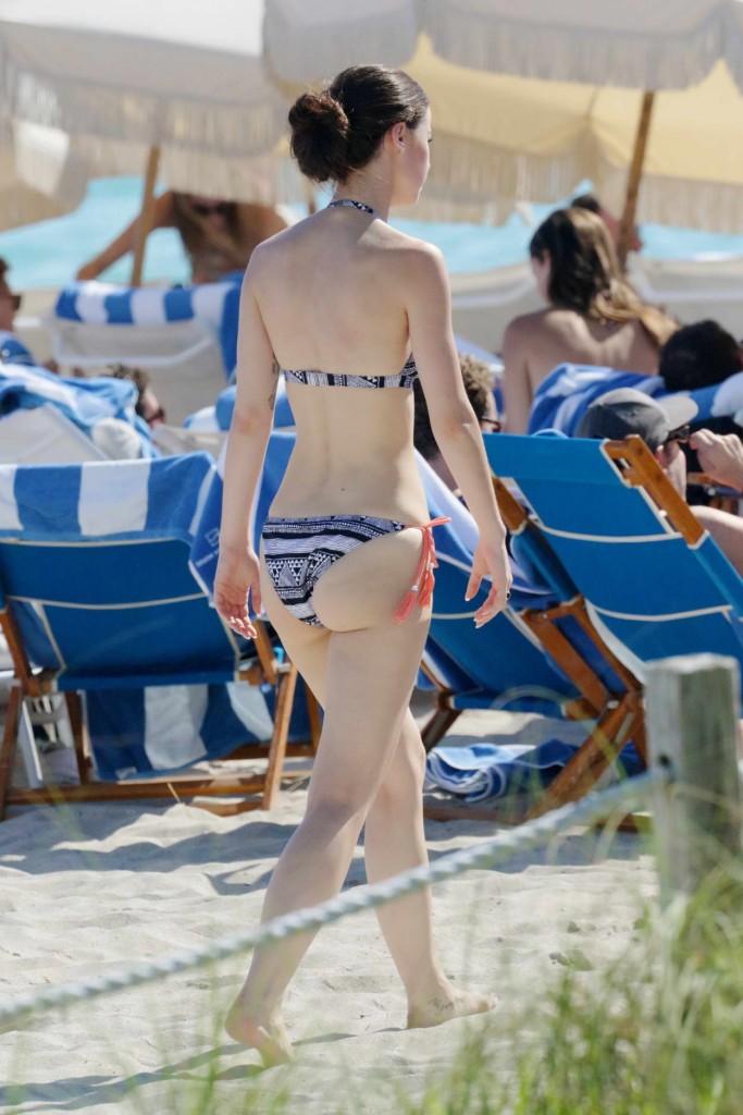 Lena Meyer-Landrut in Bikini at the Beach in Miami 01/12/2016-4