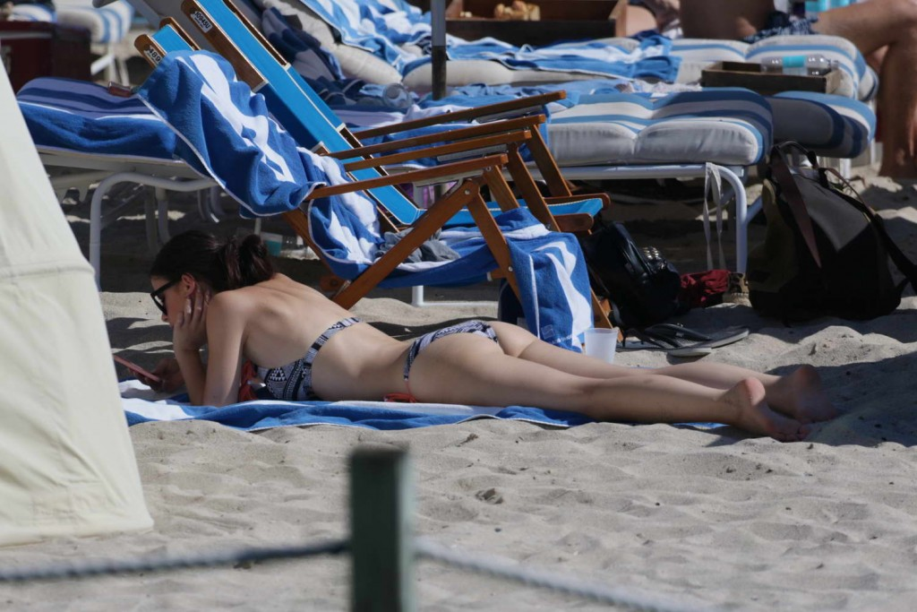 Lena Meyer-Landrut in Bikini at the Beach in Miami 01/12/2016-5