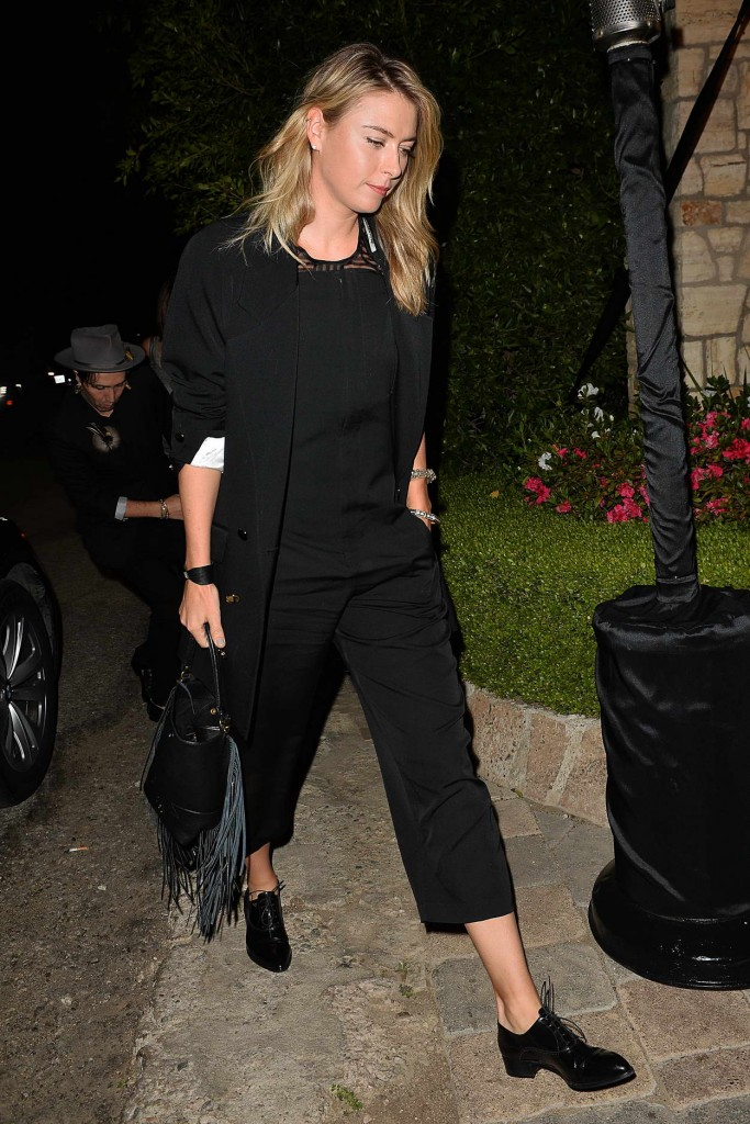 Maria Sharapova Leaves a Pre Oscar Talent Agency Party in Los Angeles 02/27/2016-3