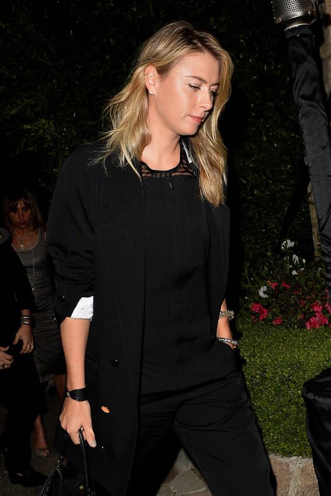 Maria Sharapova Leaves a Pre Oscar Talent Agency Party in Los Angeles 02/27/2016-4