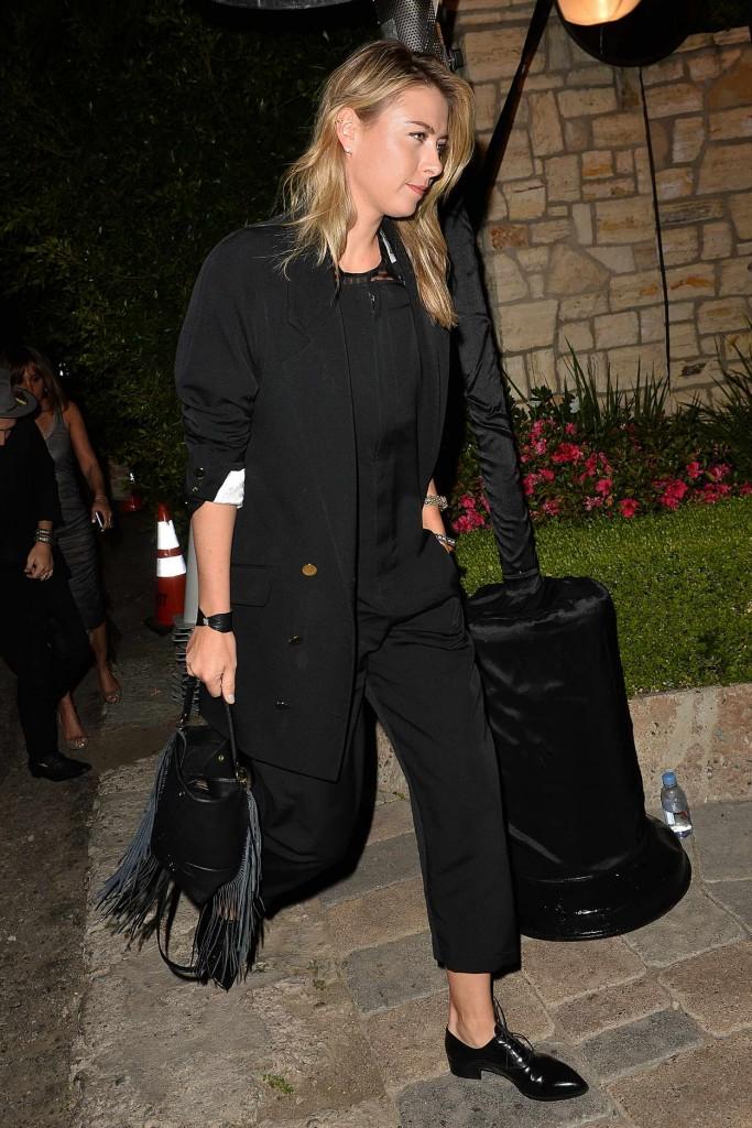 Maria Sharapova Leaves a Pre Oscar Talent Agency Party in Los Angeles 02/27/2016-5