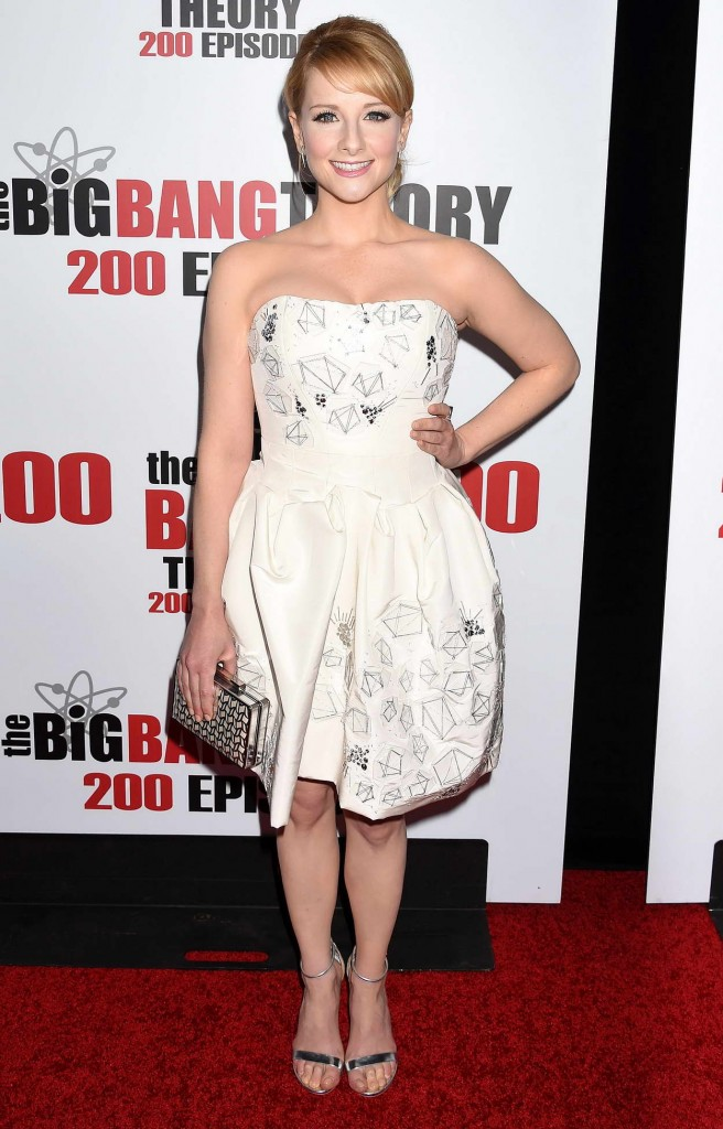 Melissa Rauch at the Big Bang Theory 200th Episode Celebration in LA 02/20/2016-1