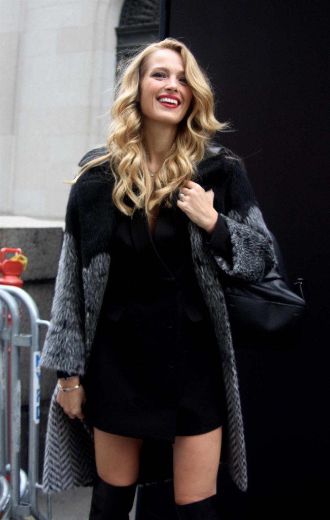 Petra Nemcova Hailing for a Cab in Manhattan 02/12/2016-3