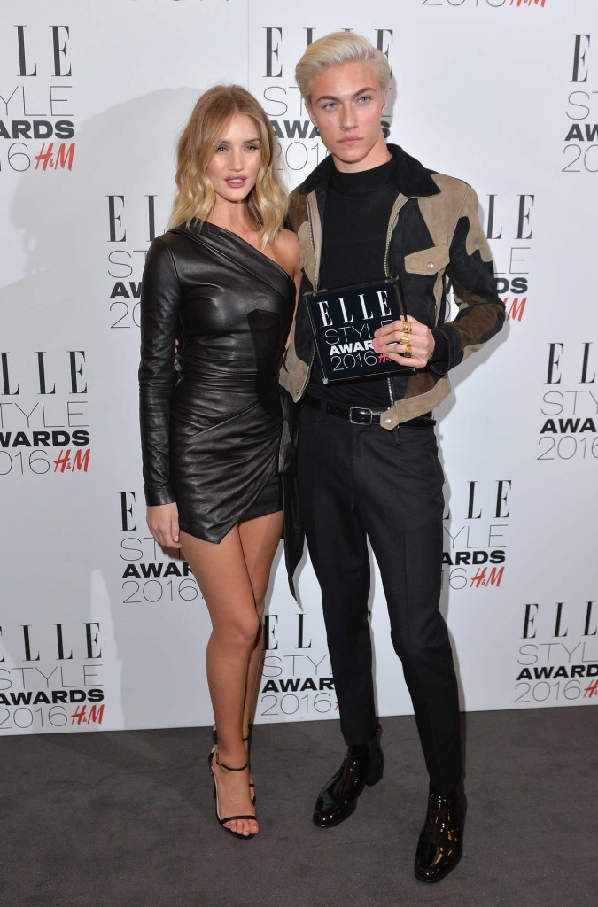 Rosie Huntington-Whiteley at Elle Style Awards 2016 in London 02/23/2016-4