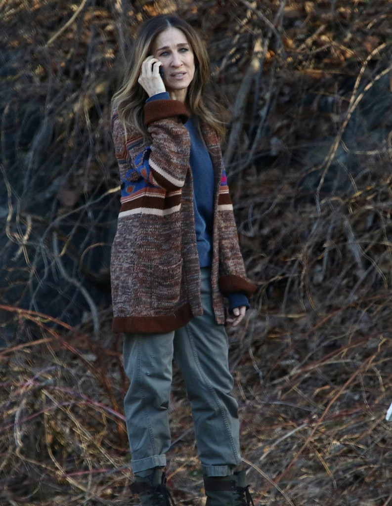Sarah Jessica Parker on the Set of HBO series Divorce in Sleepy Hollow 02/22/2016-1