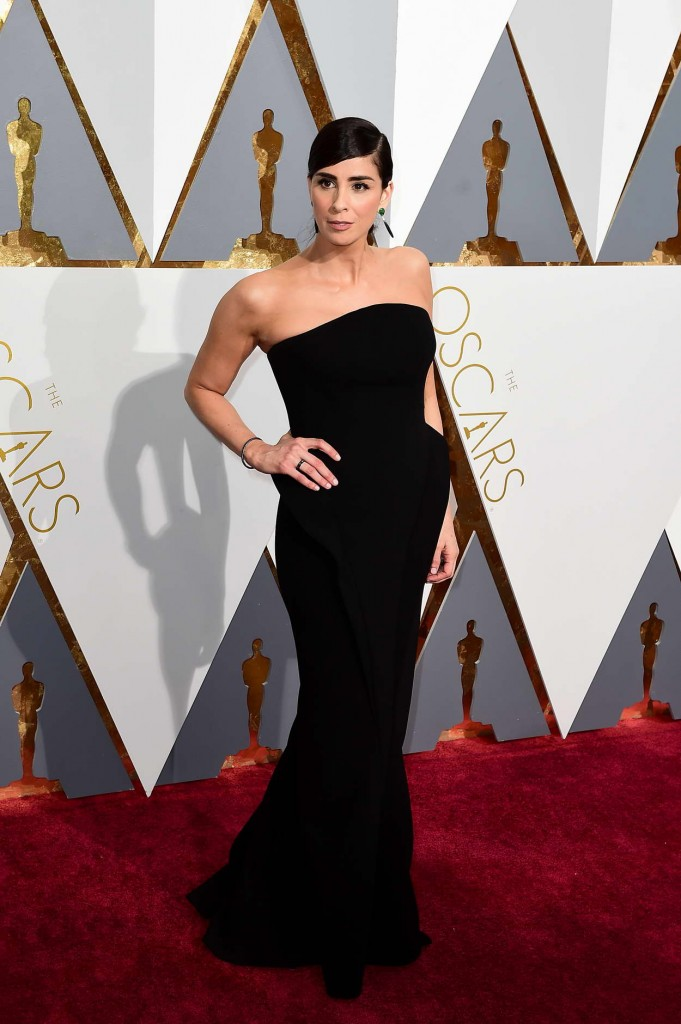 Sarah Silverman at 88th Annual Academy Awards in Hollywood 02/28/2016-1