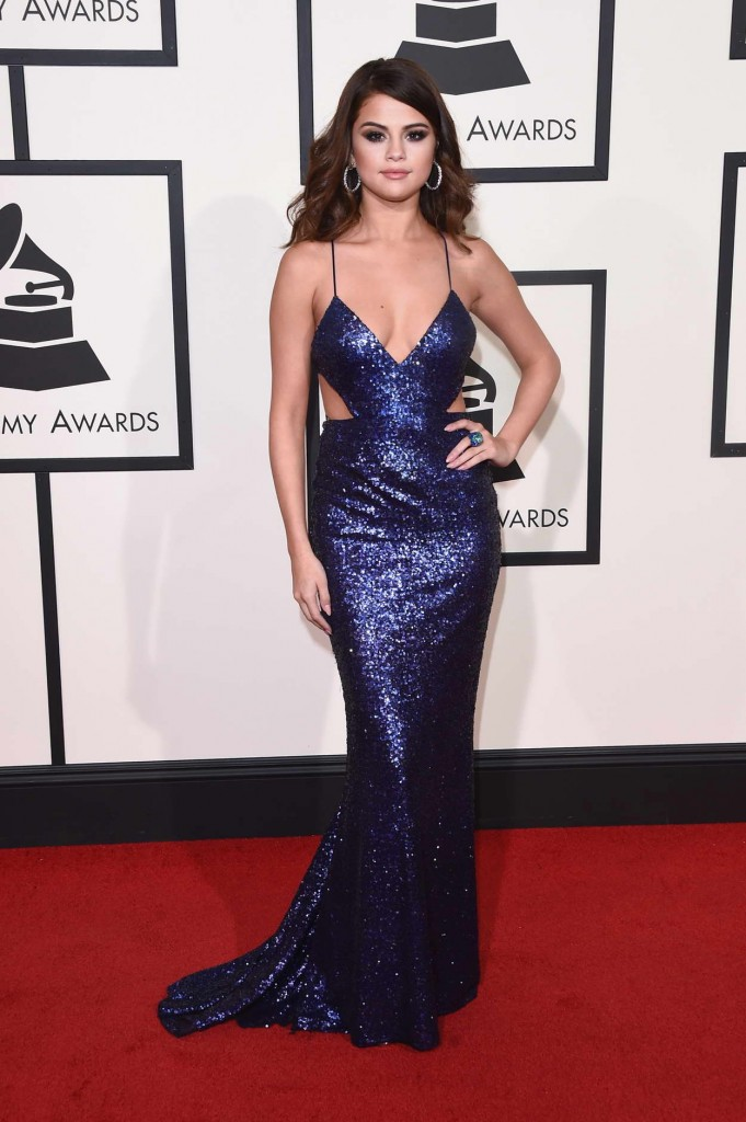 Selena Gomez at 58th Annual Grammy Awards in Los Angeles 02/15/2016-1