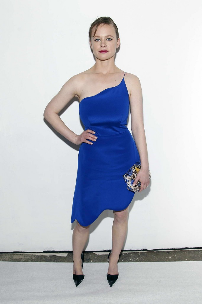 Thora Birch at Christian Siriano Fashion Show in NY 02/13/16-1