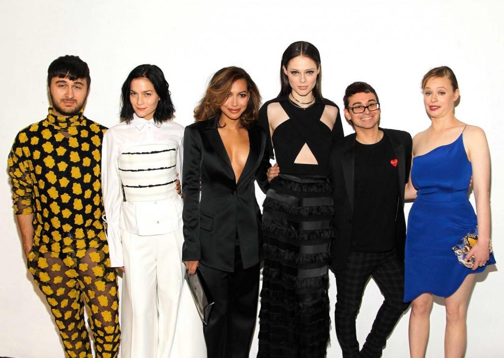 Thora Birch at Christian Siriano Fashion Show in NY 02/13/16-3