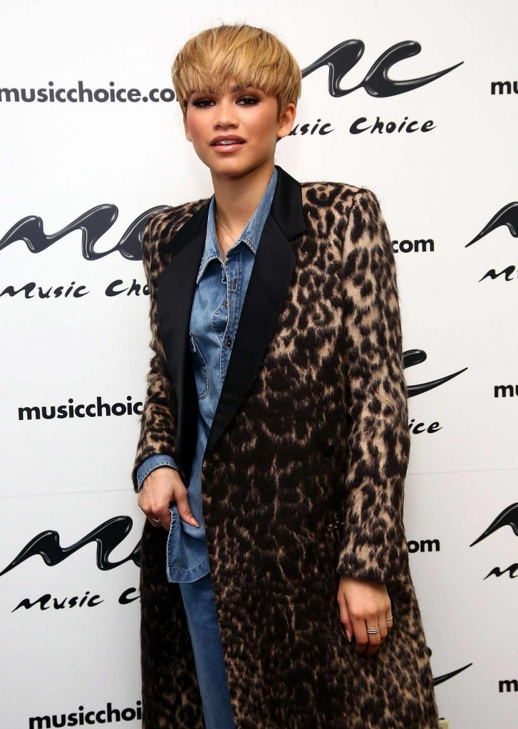 Zendaya at Music Choice in NYC 02/22/2016-2