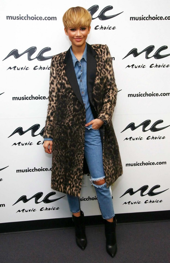 Zendaya at Music Choice in NYC 02/22/2016-3
