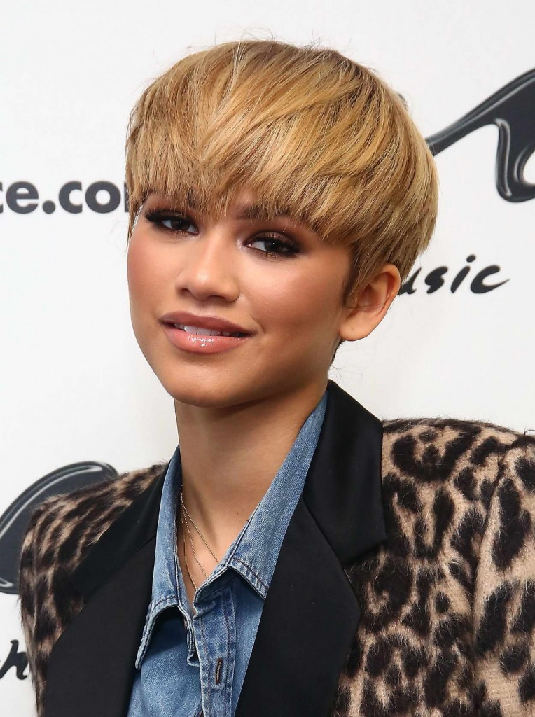 Zendaya at Music Choice in NYC 02/22/2016-4