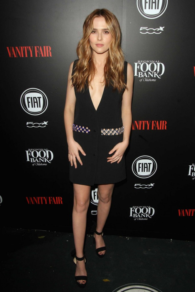 Zoey Deutch at Vanity Fair and FIAT Young Hollywood Celebration in Los Angeles 02/23/2016-1