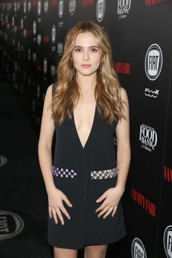 Zoey Deutch at Vanity Fair and FIAT Young Hollywood Celebration in Los Angeles 02/23/2016-3