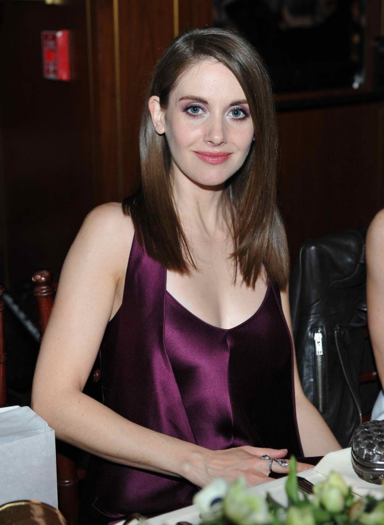 Alison Brie at The Hollywood Reporter and Jimmy Choo's Power Stylists Dinner 03/15/2016-1