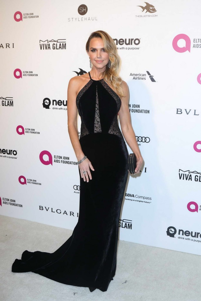 Arielle Kebbel at 24th Annual Elton John AIDS Foundation's Oscar Viewing Party in West Hollywood 02/28/2016-1