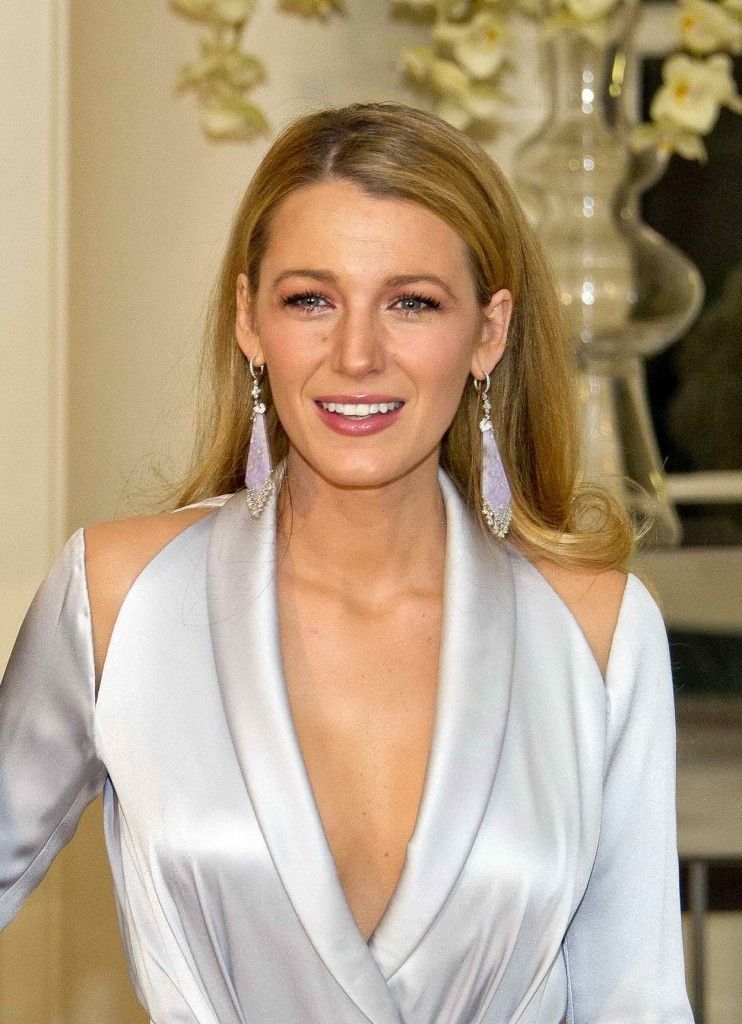 Blake Lively at Trudeau State Dinner in Washington 03/10/2016-1