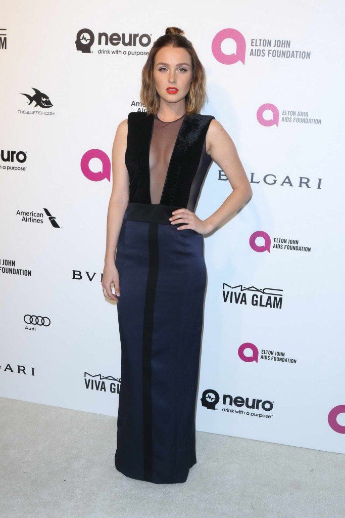 Camilla Luddington at 24th Annual Elton John AIDS Foundation's Oscar Viewing Party in West Hollywood 02/28/2016-1
