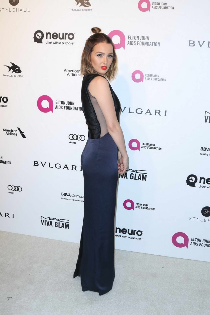 Camilla Luddington at 24th Annual Elton John AIDS Foundation's Oscar Viewing Party in West Hollywood 02/28/2016-2