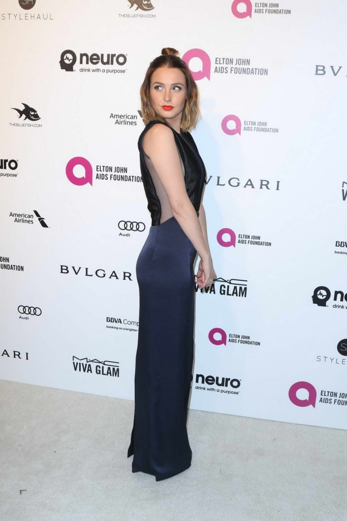 Camilla Luddington at 24th Annual Elton John AIDS Foundation's Oscar Viewing Party in West Hollywood 02/28/2016-3