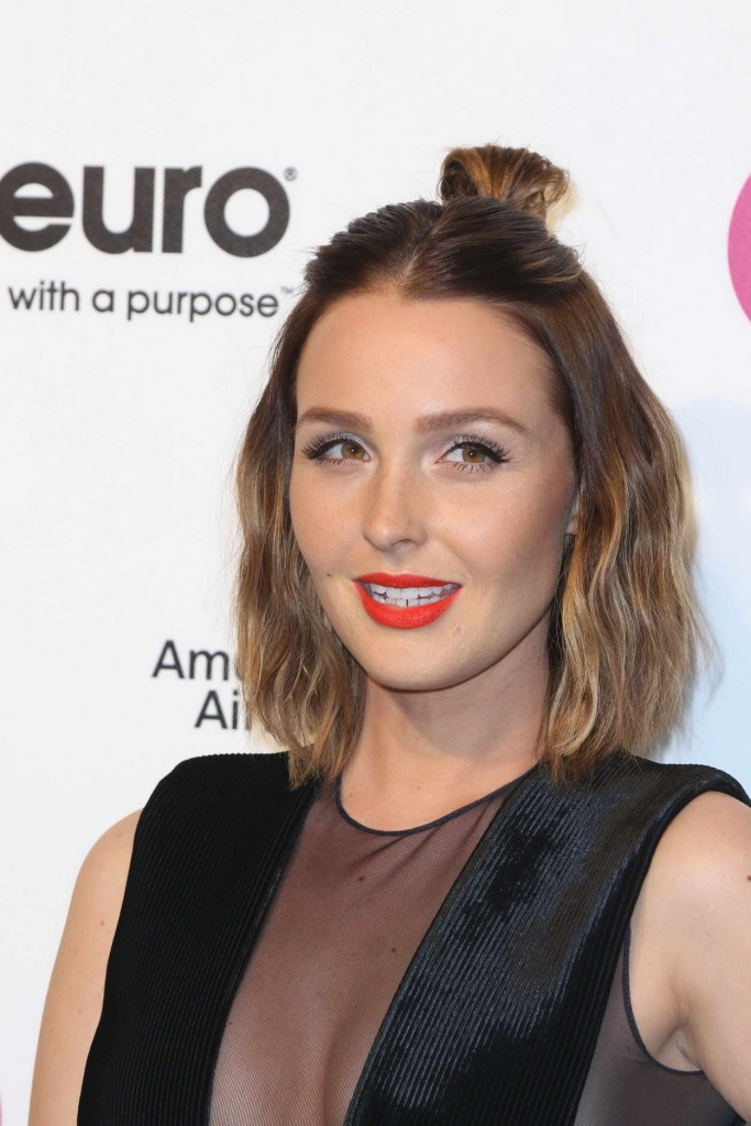 Camilla Luddington at 24th Annual Elton John AIDS Foundation's Oscar Viewing Party in West Hollywood 02/28/2016-4