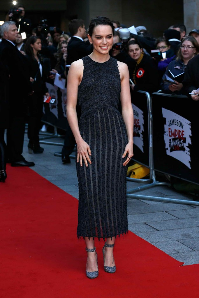 Daisy Ridley at the Jameson Empire Awards 2016 in London 03/19/2016-1