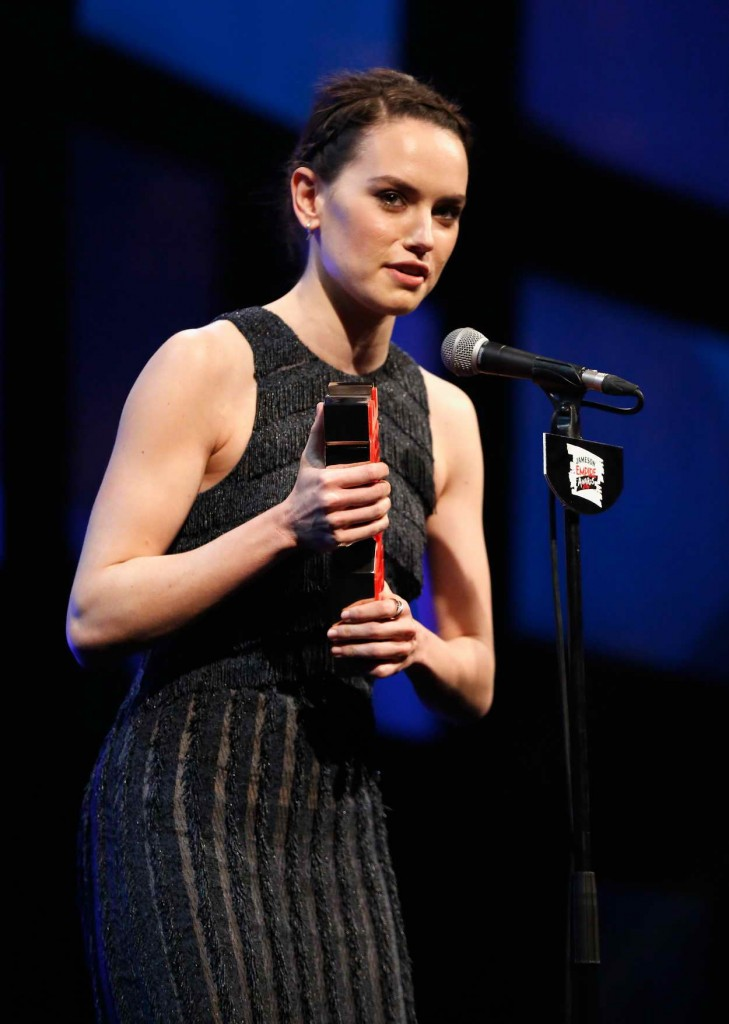Daisy Ridley at the Jameson Empire Awards 2016 in London 03/19/2016-4