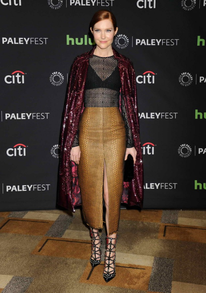 Darby Stanchfield at The Paley Center in Hollywood 03/15/2016-1
