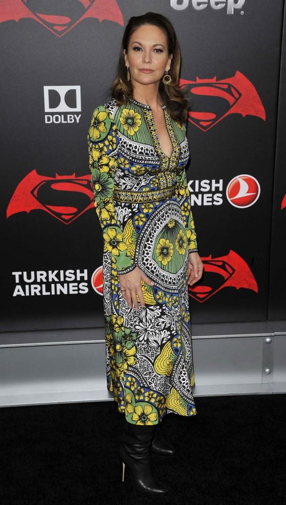 Diane Lane at Batman V Superman: Dawn Of Justice Premiere in New York City 03/20/2016-4