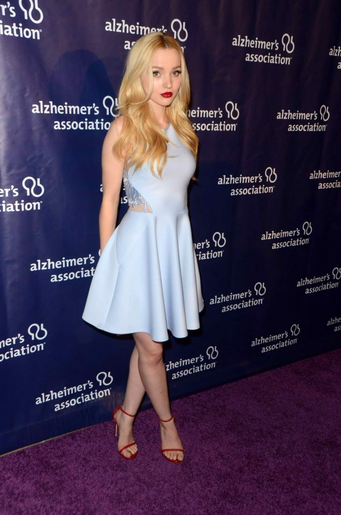 Dove Cameron at 24th Annual Alzheimer's Association A Night at Sardi's in Beverly Hills 03/08/2016-5