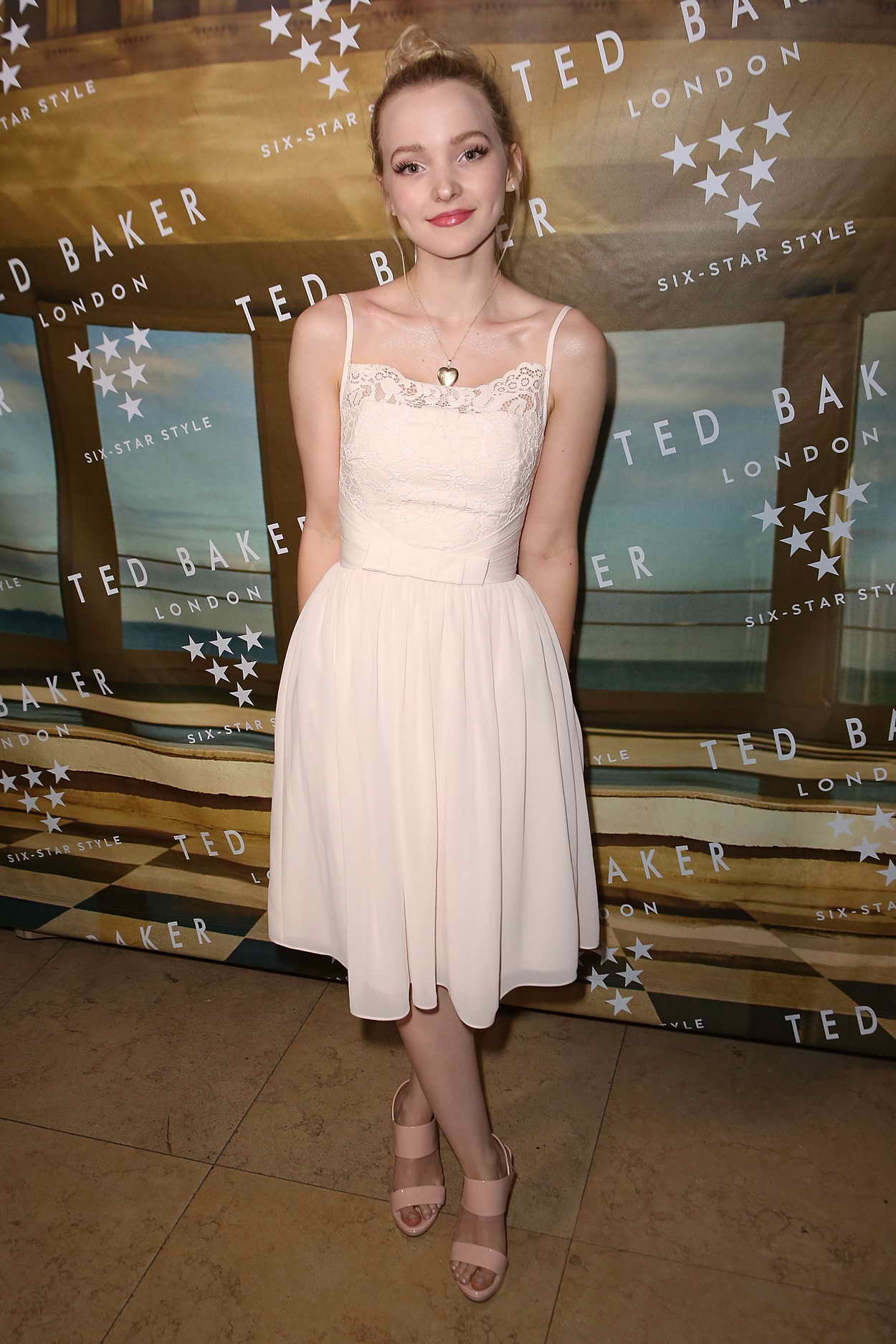 Dove Cameron At Ted Baker London Ss 16 Launch Event At