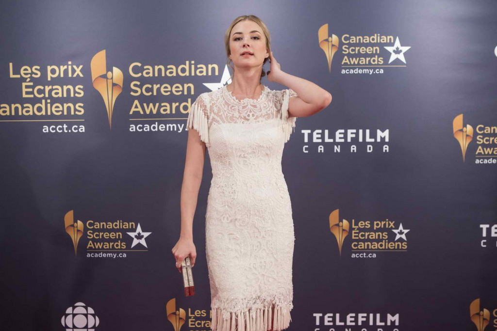 Emily VanCamp at 2016 Canadian Screen Awards in Toronto 03/13/2016-2