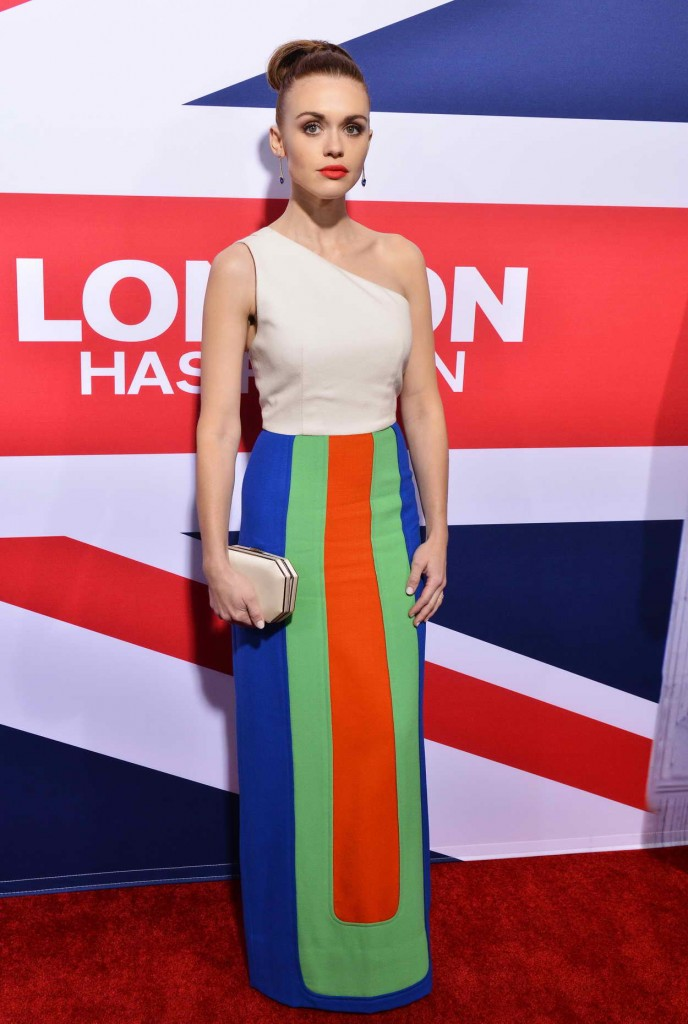 Holland Roden at London Has Fallen Premiere at the Arclight Cinemas 03/01/2016-1