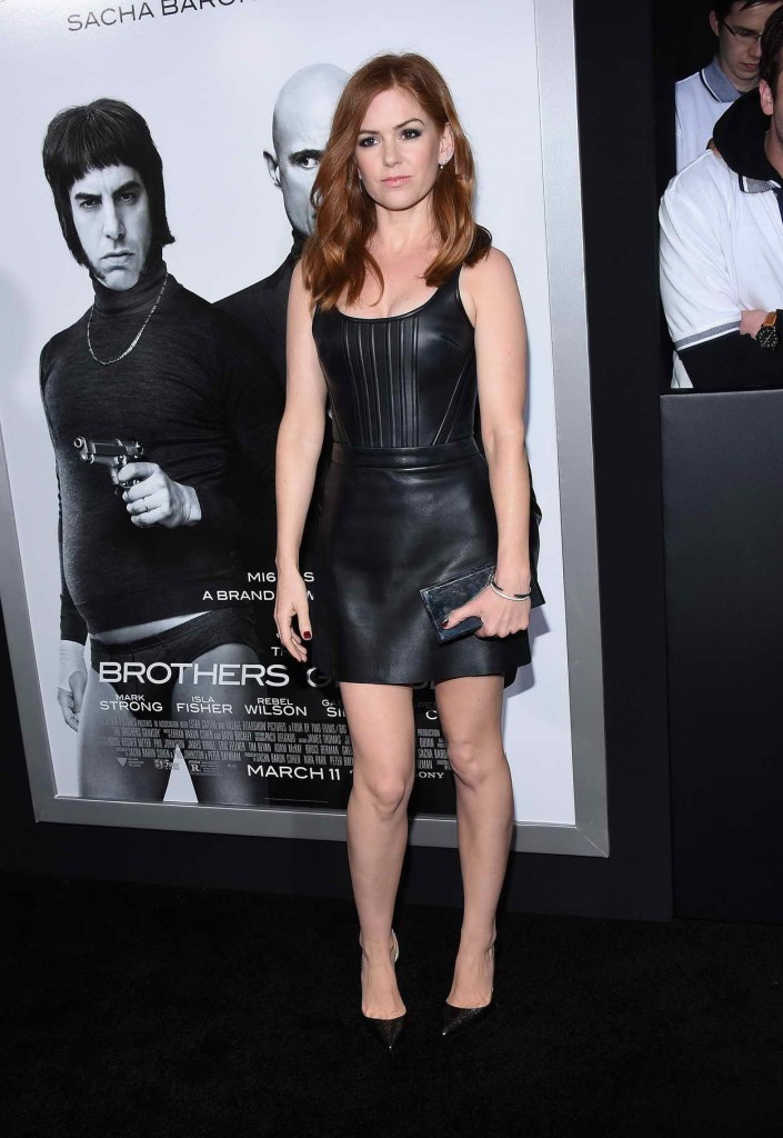 Isla Fisher at the Brothers Grimsby Premiere in Westwood 03/03/2016-1