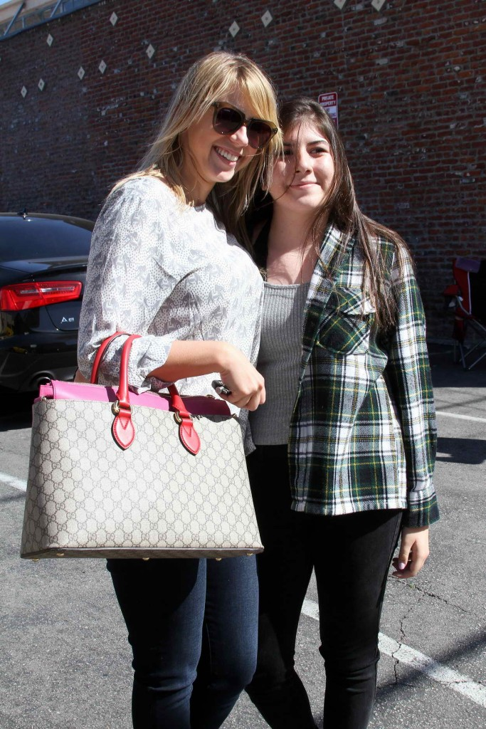 Jodie Sweetin Arriving at the Dancing With The Stars Studio in Hollywood 03/25/2016-5