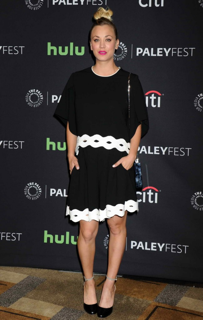 Kaley Cuoco at 33rd Annual Paleyfest in Los Angeles 03/16/2016-1
