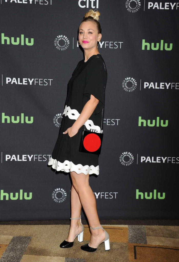 Kaley Cuoco at 33rd Annual Paleyfest in Los Angeles 03/16/2016-2