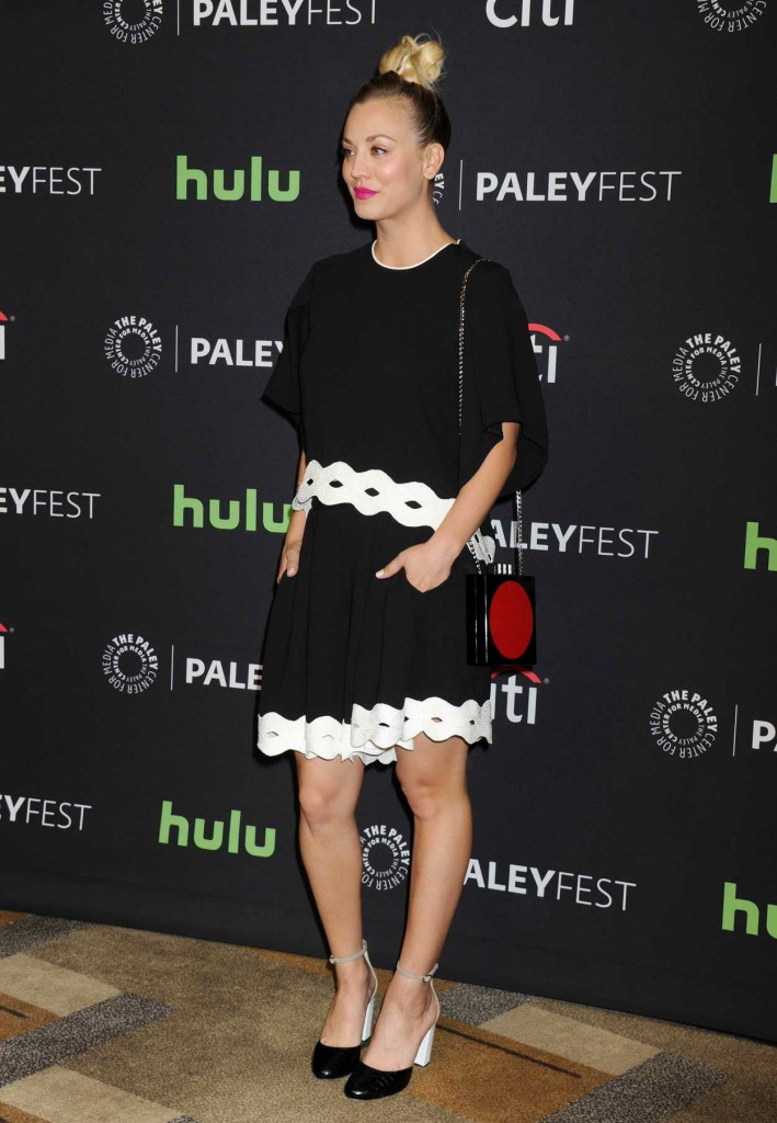 Kaley Cuoco at 33rd Annual Paleyfest in Los Angeles 03/16/2016-3