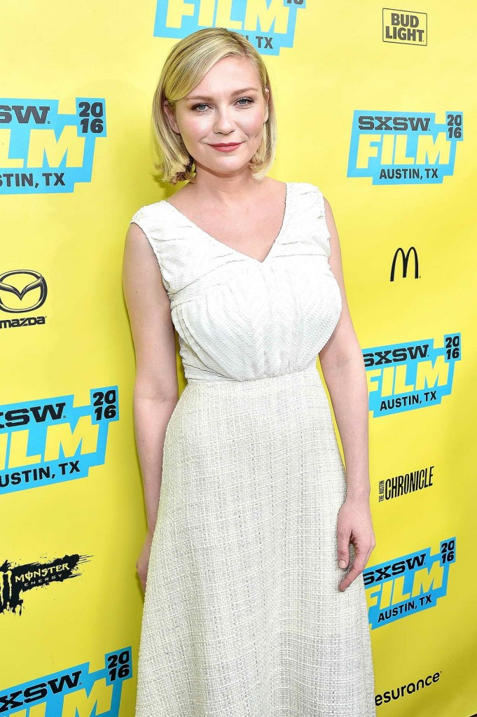 Kirsten Dunst at Screening of Don't Think Twice at SWSW Festival in Austin 03/13/2016-1