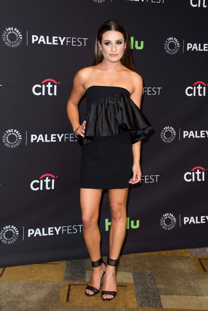 Lea Michele for Media's 33rd Annual Paleyfest Los Angeles Supergirl in Hollywood 03/13/2016-1