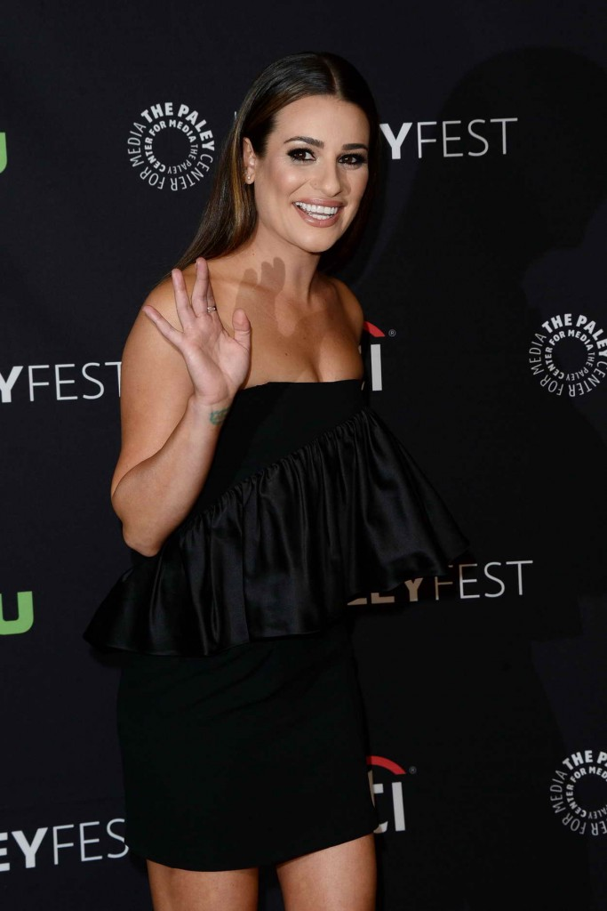 Lea Michele for Media's 33rd Annual Paleyfest Los Angeles Supergirl in Hollywood 03/13/2016-3