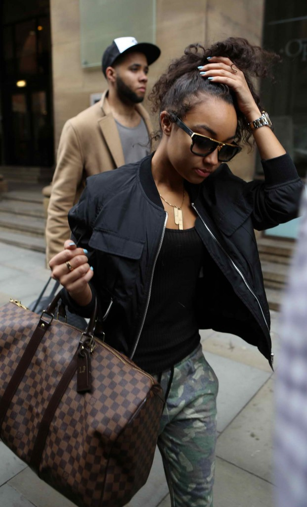 Leigh-Anne Pinnock Leaving Her Hotel in Manchester 03/26/2016-1